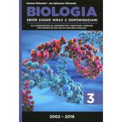BIOLOGIA ZBIÓR ZADAŃ WRAZ Z ODPOWIEDZIAMI CZ.3 / 2002-2018 Witowski, Dariusz