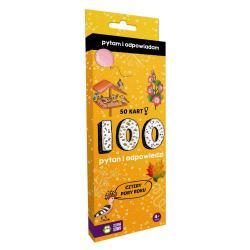 100 PYTAŃ I ODPOWIEDZI CZTERY PORY ROKU PYTAM I ODPOWIADAM. 4+