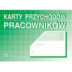 KARTY PRZYCHODÓW PRACOWNIKÓW K10