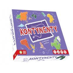 KONTYNENTY GRA PLANSZOWA 6+