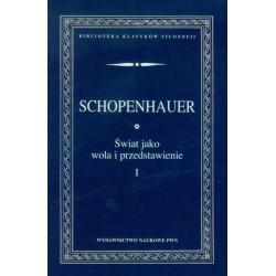 ŚWIAT JAKO WOLA I PRZEDSTAWIENIE 1 Arthur Schopenhauer