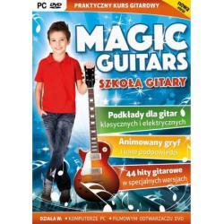 MAGIC GUITARS SZKOŁA GITARY PC DVD