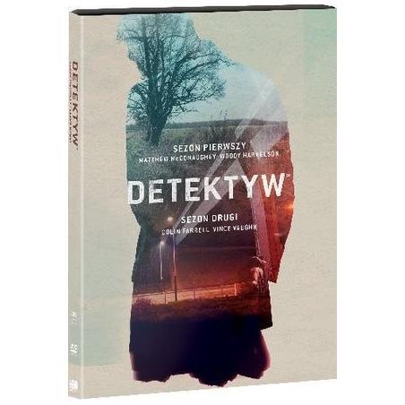 DETEKTYW SEZON 1 I 2  DVD