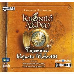 KRONIKI ARCHEO TAJEMNICA KLEJNOTU NEFERTITI AUDIOBOOK CD MP3 PL