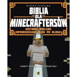 BIBLIA DLA MINECRAFTERSÓW HISTORIE BIBLIJNE OPOWIEDZIANE BLOK PO BLOKU Romines Garrett