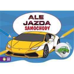 ALE JAZDA DO KOLOROWANIA SAMOCHODY 4+