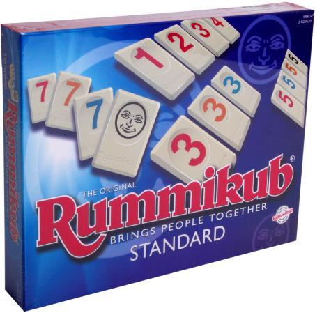RUMMIKUB STANDARD GRA LOGICZNA 7+