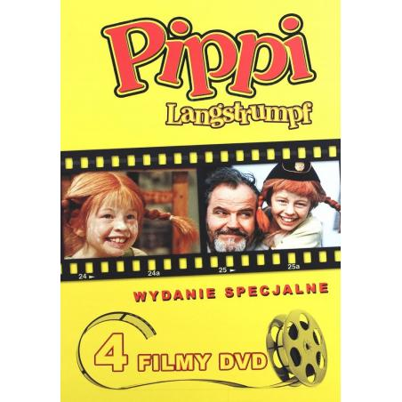 PIPPI KOLEKCJA BOX 4DVD