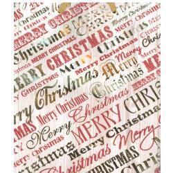 TORBA PREZENTOWA ŚWIĄTECZNA MERRY CHRISTMAS