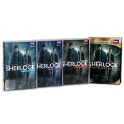 SHERLOCK SERIA 2 BBC 3 x DVD
