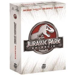 PARK JURAJSKI KOLEKCJA 4 X DVD