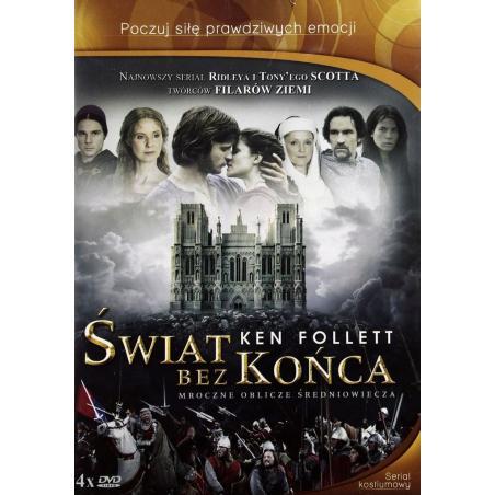 ŚWIAT BEZ KOŃCA SERIAL KOSTIUMOWY 4 X DVD