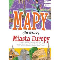 MIASTA EUROPY MAPY DLA DZIECI Zarawska Patrycja