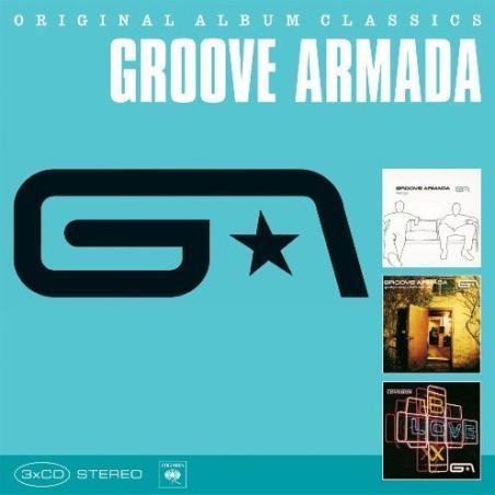 GROOVE ARMADA ORIGINAL ALBUM CLASSICS MUZYKA 3xCD