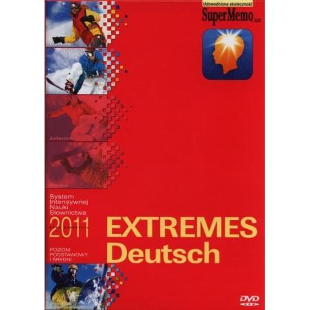EXTREMES DEUTSCH KURS JĘZYKA NIEMIECKIEGO POZIOM PODSTAWOWY I ŚREDNI DVD-ROM