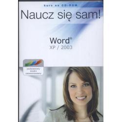 WORD XP 2003 NAUCZ SIĘ SAM! KURS NA CD-ROM