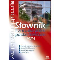 MULTIMEDIALNY SŁOWNIK FRANCUSKO-POLSKI POLSKO-FRANCUSKI PWN CD-ROM