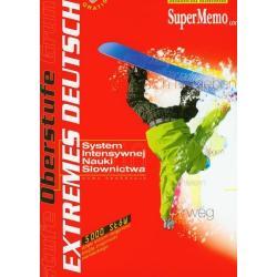 EXTREMES DEUTSCH OBERSTUFE SYSTEM INTENSYWNEJ NAUKI SŁOWNICTWA JĘZYKA NIEMIECKIEGO DVD-ROM