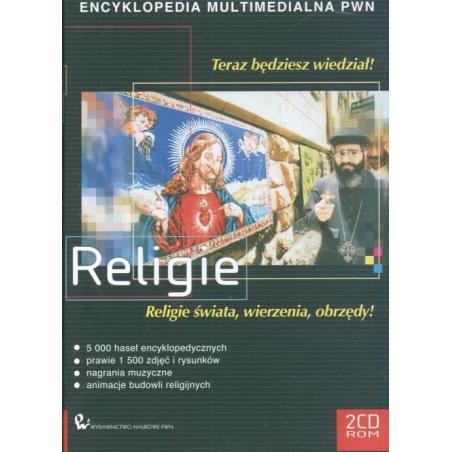 RELIGIE ENCYKLOPEDIA MULTIMEDIALNA PWN RELIGIE ŚWIATA WIERZENIA OBRZĘDY! CD-ROM