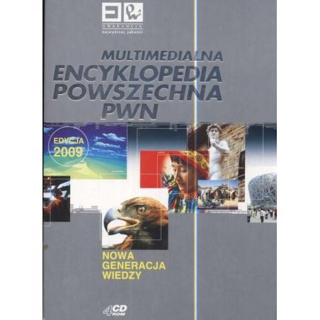 MULTIMEDIALNA ENCYKLOPEDIA POWSZECHNA PWN DVD-ROM