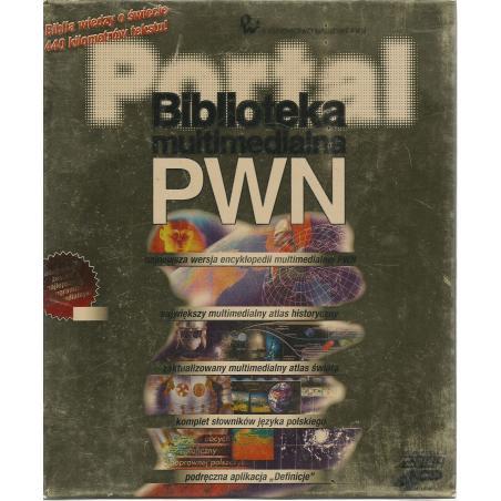 BIBLIOTEKA MULTIMEDIALNA PWN BIBLIA WIEDZY O ŚWIECIE 440 KILOMETRÓW TEKSTU! CD-ROM