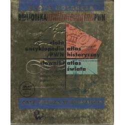 BIBLIOTEKA MULTIMEDIALNA PWN ZŁOTA ENCYKLOPEDIA PWN ATLAS HISTORYCZNY SŁOWNIKI ATLAS ŚWIATA DVD-ROM