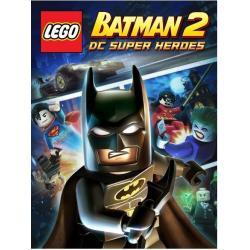 LEGO BATMAN 2 DC SUPER HEROES GRA PC + KOSZULKA KOLEKCJONERSKA XL