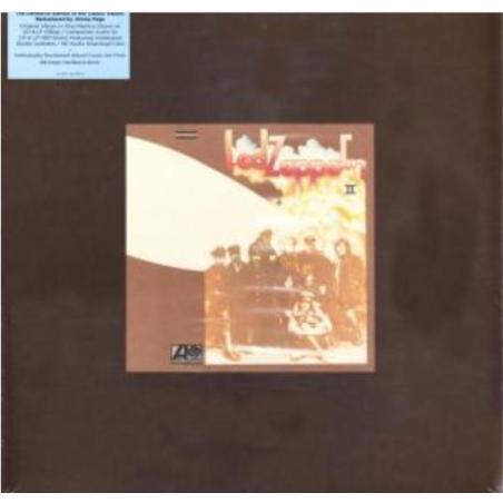 LED ZEPPELIN II SUPER DELUXE EDITION BOX 2 x CD + 2 x WINYL