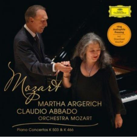 ARGERICH MARTHA MOZART: PIANO CONCERTOS WINYL