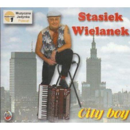 STASIEK WIELANEK CITY BOY CD