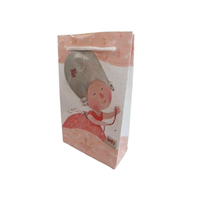 TOREBKA PREZENTOWA ANIOŁKI POZIOMA 18x16x7,5 cm
